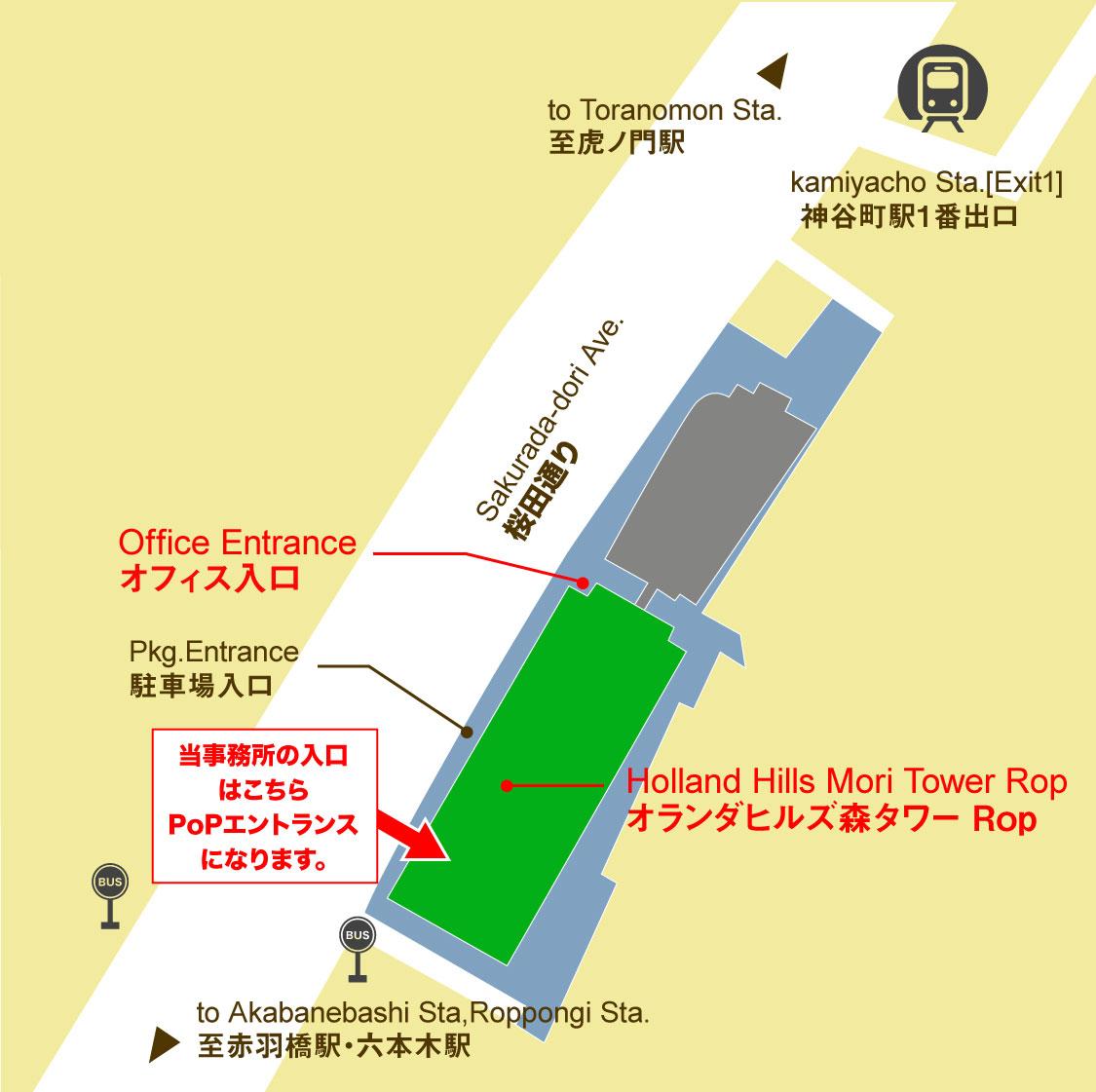 エントランスマップ